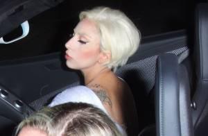 Lady Gaga é fotografada com um novo corte de cabelo