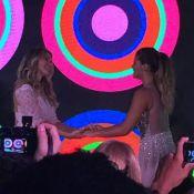 Flávia Alessandra dança valsa com Giulia na festa de 15 anos da filha. Assista!