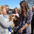 Kate Middleton conheceu o cachorro de estimação da escola, Henry