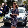 Kate Middleton visitou o colégio The Willows Primary School, em Manchester, na Inglaterra, nesta terça-feira, 23 de abril de 2013