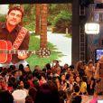 Junno gravou uma declaração de amor para a namorada na gravação do especial de 50 anos de Xuxa  que foi ao ar no 'TV Xuxa'