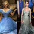 Lily James nega que tenham usado recurso de imagem para afinar sua cintura no filme 'Cinderela'