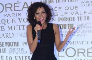Taís Araújo aparece mais magra e com cabelos escuros um mês após dar à luz