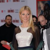 Gwyneth Paltrow usa vestido transparente e mostra que está com tudo em cima