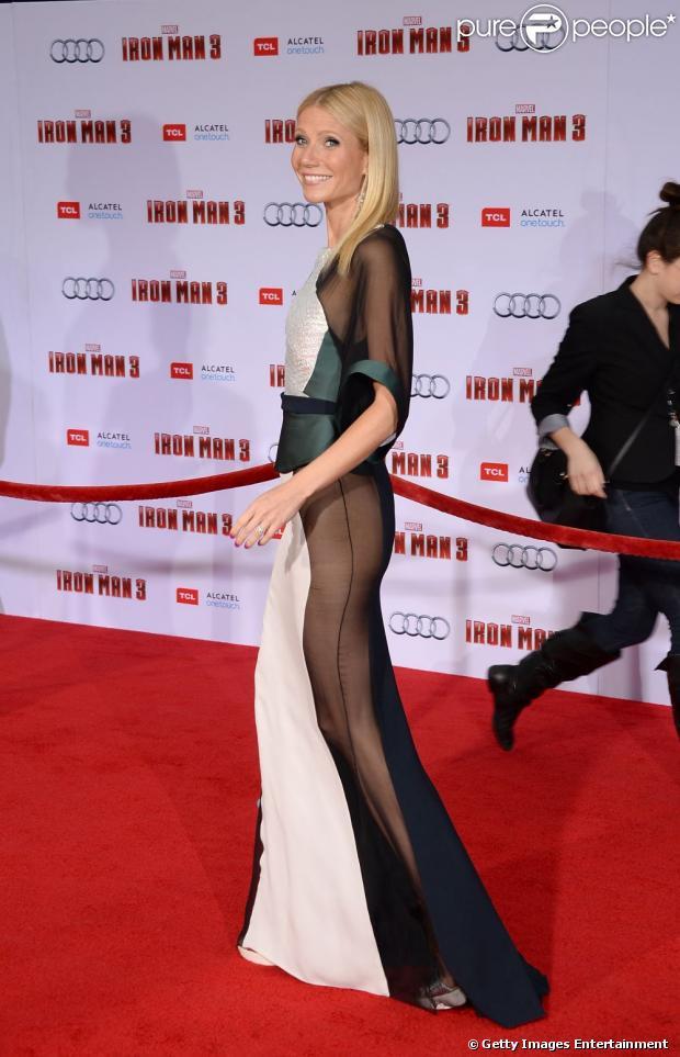Gwyneth Paltrow parece não estar usando calcinha