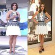Fátima Bernardes recentemente também usou um vestido que já tinha sido escolhido pela atriz