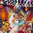 Angélica se casa 'de mentirinha' no programa 'Angel mix', exibido de 1996 a 2000 na Globo