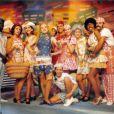 Angélica e a turma do 'Milk Shake' (exibido de 1988 a 1993 na extinta TV Manchete)