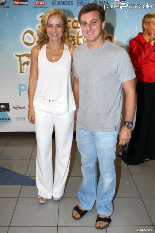 Angélica e Luciano Huck completam em 2012 oito anos de casados