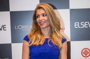 Grazi Massafera usa batom vermelho de R$73 de Julia Petit em evento: 'Desmaiada'