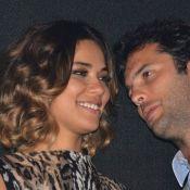 Bia Antony leva o namorado, Marcelo Ciampolini, ao show de Wanessa