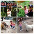 Rafa Justus se diverte na Jungle Island em Miami, nos EUA