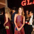 Tania Khalil marca presença no prêmio Geração Glamour