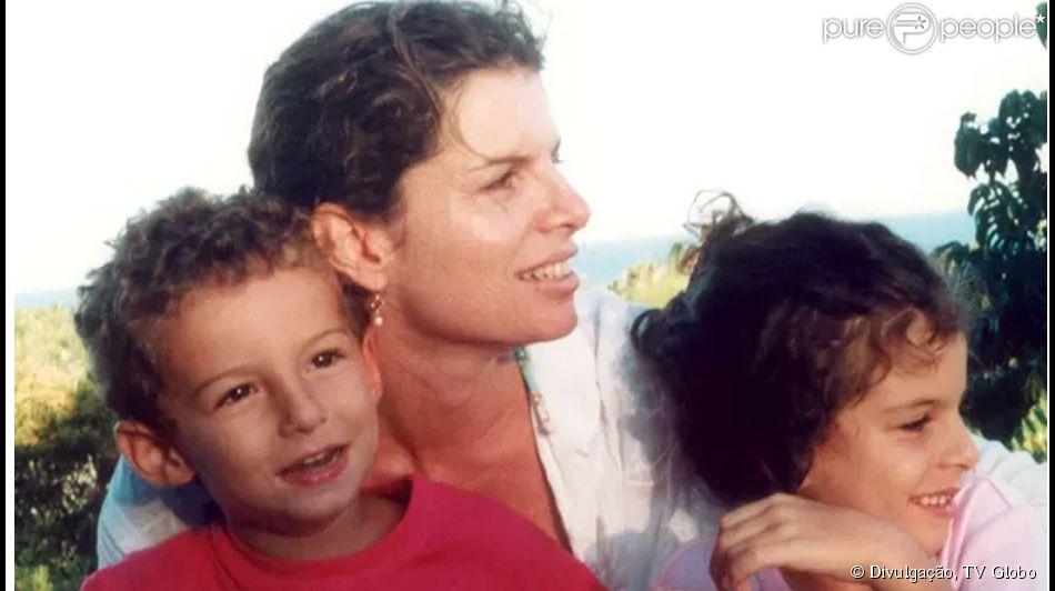 Debora Bloch Filhos Débora Bloch e os...