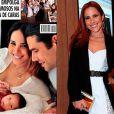 A cantora Wanessa Camargo também tem um corpo incrível e deu à luz José Marcus, de seu casamento com o empresário Marcus Buaiz, há apenas 1 ano!