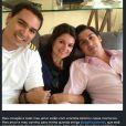 Mariana Belém também se pronunciou a respeito da morte de Thomaz Alckmin, na foto ao lado dos irmãos