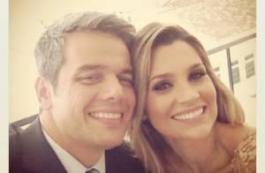 Flávia Alessandra parabeniza o marido, Otaviano Costa: 'Hoje é dia do my love!'