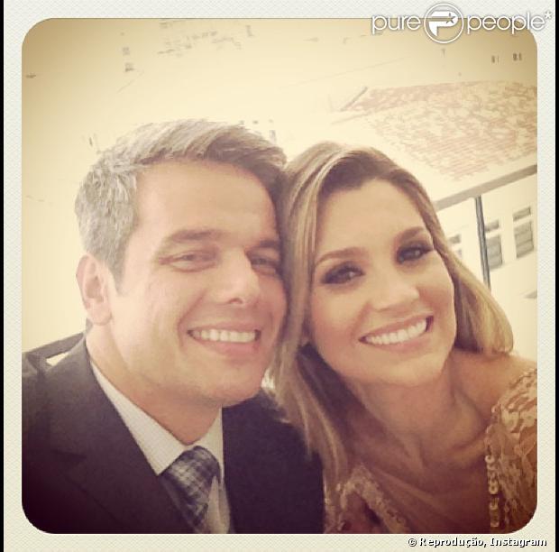 Flávia Alessandra parabeniza o marido pelo seu aniversário em 13 de maio de 2013