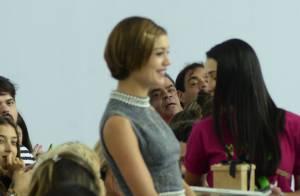 Sophie Charlotte vai a desfile com Fernanda Tavares em passarela do Minas Trend