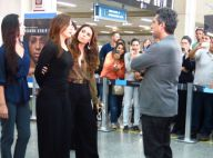 'Salve Jorge': veja fotos de Lívia (Claudia Raia) e Wanda algemadas em aeroporto