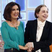 Novela 'Babilônia': Fátima Bernardes grava participação com Fernanda Montenegro