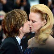 Nicole Kidman beija Keith Urban na première do filme de Justin Timberlake