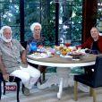 A apresentadora também recebeu os atores Antonio Fagundes e Stenio Garcia no programa 'Mais Você'