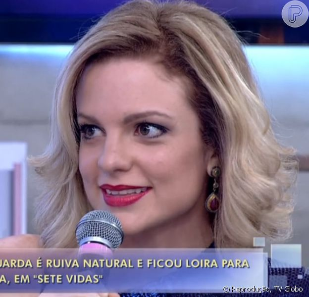 Maria Eduarda de Carvalho fala sobre mudança no visual para 'Sete Vidas': 'Eu não me reconheci durante um tempo, aí eu sofri um pouco. Foi um pouco difícil nas primeiras semanas'