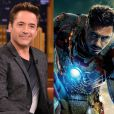 Robert Downey Jr. viveu o super-herói Homem de Ferro em 2008 e com o sucesso da franquia voltou a interpretá-lo nas edições 2 e 3