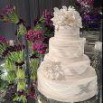 O bolo do casamento de Roberto Justus