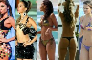 Famosas exibem boa forma na TV em cenas de biquíni e lingerie. Veja 100 fotos!