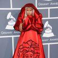 Quem abre a galeria é Nicki Minaj, por motivos óbvios. A cantora estava com este vestido peculiar no 54º Grammy Awards, que aconteceu no Staples Center em Los Angeles, na Califórnia, no dia 12 de fevereiro de 2012