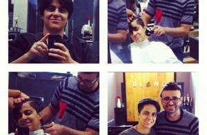 Thammy Miranda muda corte de cabelo: 'Iniciando novos trabalhos'