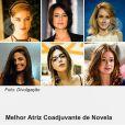 A atriz comemorou no Instagram a indicação de 'Melhor Atriz Coadjuvante de Novela' do Prêmio Contigo