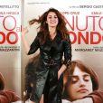 Penelope Cruz posa na première de 'Venuto Al Mondo', um dos últimos trabalhos da atriz, em 2012