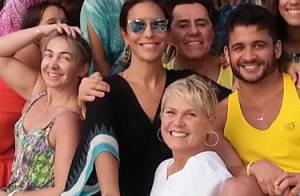 Xuxa comemora aniversário de Ivete Sangalo no 2º dia de festa da cantora