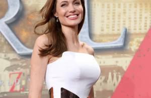 Angelina Jolie surpreende com vestido que marca nova silhueta após cirurgia