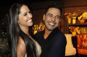 Zezé Di Camargo lança DVD com Luciano e abraçado à namorada, Graciele Lacerda