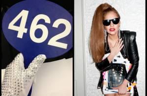 Lady Gaga arremata 55 peças em leilão de roupas de Michael Jackson