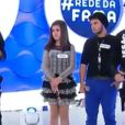 Maisa Silva participou do 'Programa da Eliana' neste domingo, 14 de junho de 2015. A apresentadora teen usou um vestido com babadinho