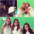 Maisa Silva gravou ao lado de Eliana e Patricia Abravanel a vinheta de fim de ano do SBT