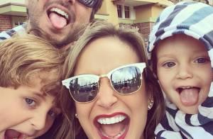Claudia Leitte planeja mais filhos e afirma: 'Espero que Deus me dê uma menina'