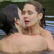 Adriana Esteves e Vladimir Brichta protagonizam cenas quentes em 1º filme juntos