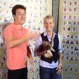 Xuxa é entrevistada por Rodrigo Faro na Fundação Xuxa Meneguel