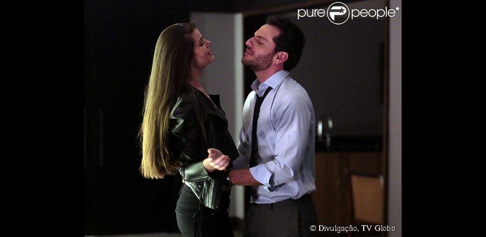 Alex (Rodrigo Lombardi) diz que nunca vai se casar com Angel (Camila Queiroz) e ela termina o relacionamento com ele, na novela 'Verdades Secretas', em 22 de junho de 2015