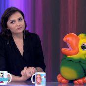 Após cair no 'Mais Você', Monica Iozzi diz no 'Vídeo Show': 'Sofri bullying'