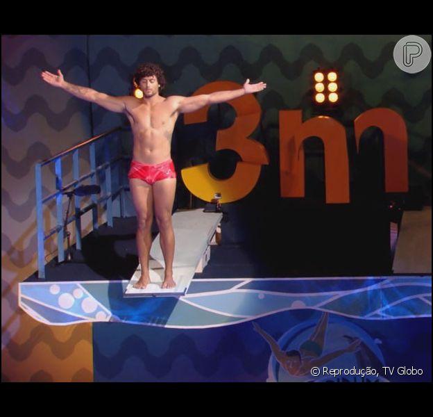 Jesus Luz é eliminado do 'Saltibum', em 20 de junho de 2015