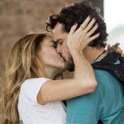Novela 'Sete Vidas': Pedro beija Júlia e Felipe flagra os dois abraçados