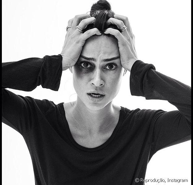 A atriz Thaia Ayala aderiu à campanha que pede mudanças no país
