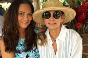 Luiza Brunet aparece sem maquiagem em foto e é elogiada: 'Naturalmente linda'